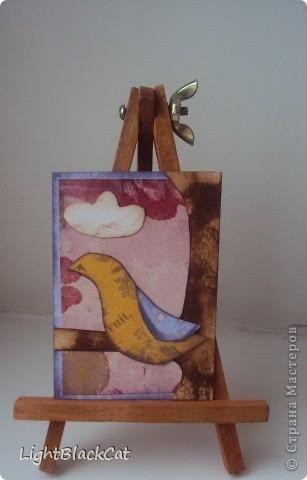 Наконец-то сделала я большую серию! Птицы, конечно излюбленная тема, но я тоже захотела их сделать! фото 11