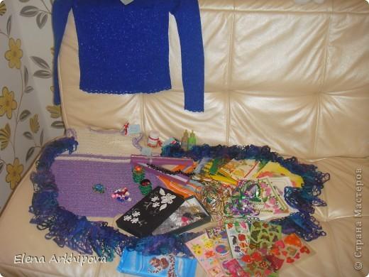 Вот такая посылочка пришла мне, с огромным числом подарочков!! От Ирины из Краснодарского края!!! фото 1