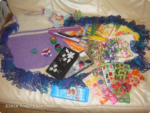 Вот такая посылочка пришла мне, с огромным числом подарочков!! От Ирины из Краснодарского края!!! фото 2