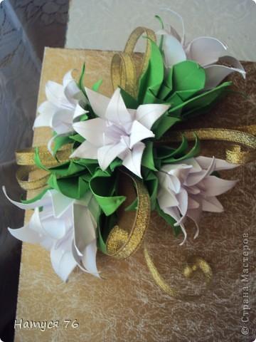 Оформление подарочной коробки фото 2
