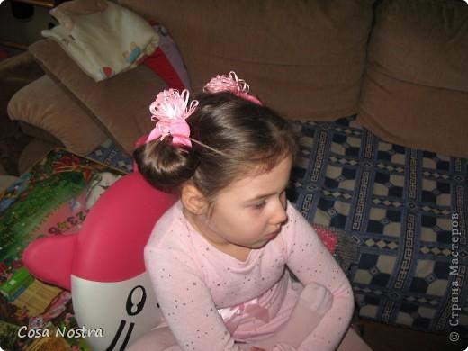 Заколка для волос а-ля Sofist-o-twist вариант Мальвина, закрученная в полъоборота. фото 9