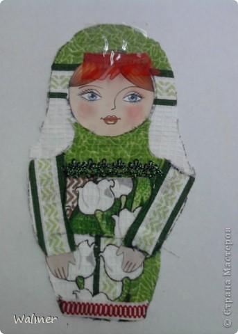 """""""Матрёшка"""",  Таня Мерзлякова. фото 4"""