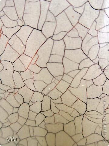"""Вот результат моего похода на мастер-класс """" кракелюр""""-  первое творение :))) фото 8"""