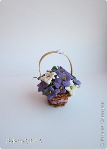 *Корзинка с цветами* фото 1