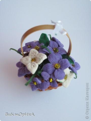 *Корзинка с цветами* фото 2