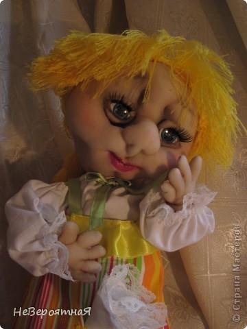 Сердечный всем привет!!!!  Моя новая кукла - Алёнка. Романтичная, нежная, немного грустная... фото 1