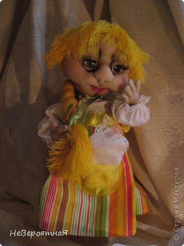 Сердечный всем привет!!!!  Моя новая кукла - Алёнка. Романтичная, нежная, немного грустная... фото 3