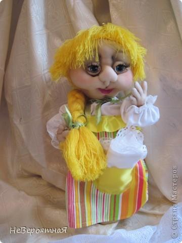 Сердечный всем привет!!!!  Моя новая кукла - Алёнка. Романтичная, нежная, немного грустная... фото 4