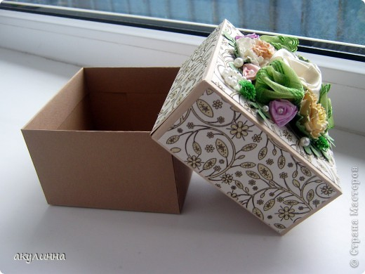 Подарочная коробочка фото 2