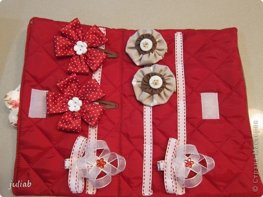 В продолжении предыдущей темы девчачьих радостей,делала в подарок такой набор с вышивкой,смотрится очень изящно. фото 3