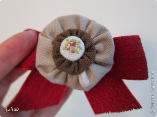В продолжении предыдущей темы девчачьих радостей,делала в подарок такой набор с вышивкой,смотрится очень изящно. фото 2