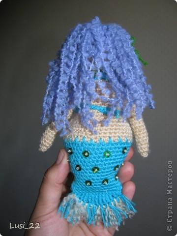 Спасибо большое Жанночке http://yarnsmile.blogspot.com/ за авторское описание этой прелестной морской девицы- русалоньки. Её русалки здесь http://stranamasterov.ru/node/379612 и здесь http://stranamasterov.ru/node/363460 фото 2