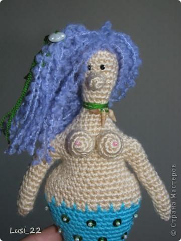 Спасибо большое Жанночке http://yarnsmile.blogspot.com/ за авторское описание этой прелестной морской девицы- русалоньки. Её русалки здесь https://stranamasterov.ru/node/379612 и здесь https://stranamasterov.ru/node/363460 фото 3