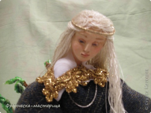 Интерьерная кукла. Эльф. фото 4