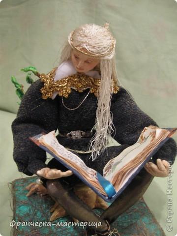 Интерьерная кукла. Эльф. фото 3
