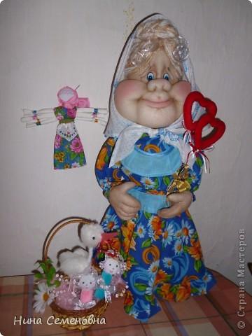 Вот такая Матрена у меня получилась!!! Спросите, почему бабушка? Мать, бабушка и являются хранительницами добра, тепла, уюта в нашем доме!!! фото 6