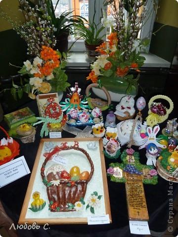 К празднику пасхи в нашем храме проводилась выставка пасхальных работ. У меня получилась вот такая корзиночка. фото 4