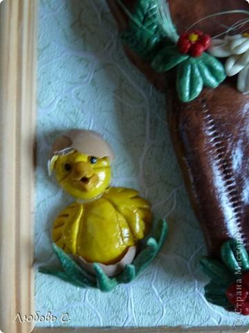 К празднику пасхи в нашем храме проводилась выставка пасхальных работ. У меня получилась вот такая корзиночка. фото 3