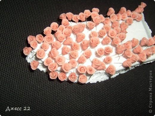 Розы были заказаны для бисерного колье всего 123 штучки, делались из ХФ без клея. фото 2