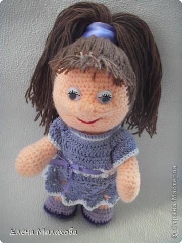 Вот такая куколка связалась у меня фото 1