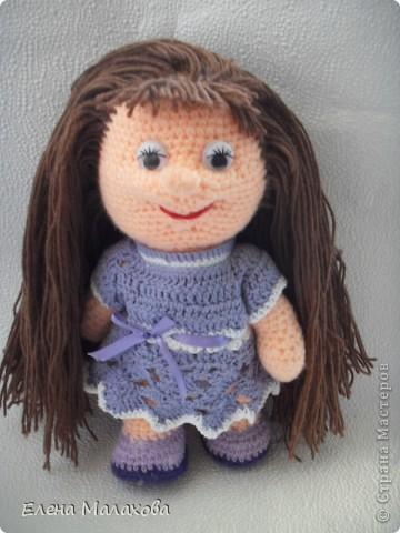 Вот такая куколка связалась у меня фото 2