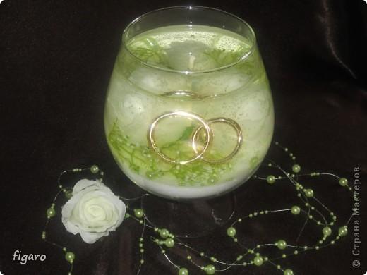 Свадебная свечи. фото 1