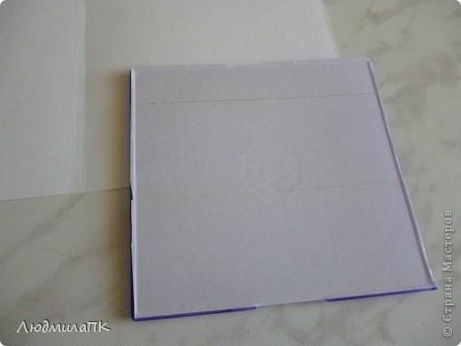 Здравствуйте, дорогие мастерицы! По просьбе приготовила мастер-класс по изготовлению коробочки для диска, может, и вам пригодится)) фото 21