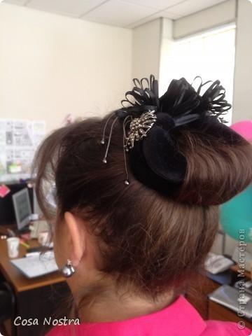 Заколка для волос а-ля Sofist-o-twist вариант Мальвина, закрученная в полъоборота. фото 11