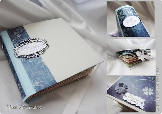 Мой первый фотоальбом. Это подарок на свадьбу.  фото 1