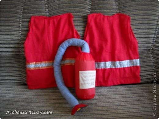 Костюмчики и огнетушитель в садик фото 1