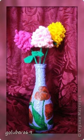Будем вязать такие цветы. фото 1