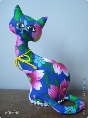 Всем здравствуйте! Вот и я попробовала сшить кошечку. Очень уж красивые кошки у steplin  (http://stranamasterov.ru/node/379131?c=favorite) и Ольги Качуровской ( спасибо за МК http://stranamasterov.ru/node/368774?c=favorite). фото 1