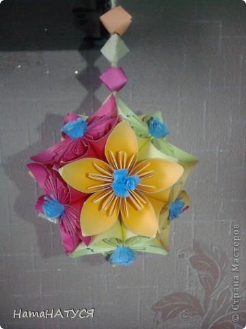 Цветочный шар фото 3