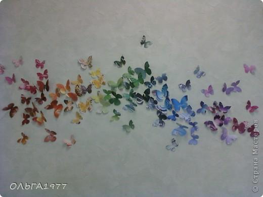 Попросили поделку в детский сад (сыну), а я давно хотела сделать что-нибудь с бабочками, ну вот и пригодились каталоги Орифлейм. фото 3
