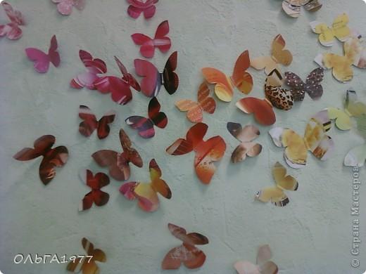 Попросили поделку в детский сад (сыну), а я давно хотела сделать что-нибудь с бабочками, ну вот и пригодились каталоги Орифлейм. фото 5