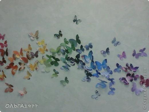 Попросили поделку в детский сад (сыну), а я давно хотела сделать что-нибудь с бабочками, ну вот и пригодились каталоги Орифлейм. фото 7