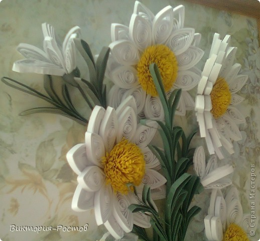 Ветка ромашки-продолжение моей коллекции картин для коридора:) фото 2