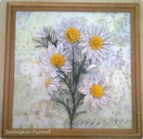 Ветка ромашки-продолжение моей коллекции картин для коридора:) фото 3