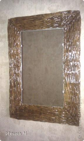 Рамка для зеркала. На даче. фото 2