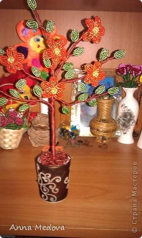 Дерево цветочное фото 1