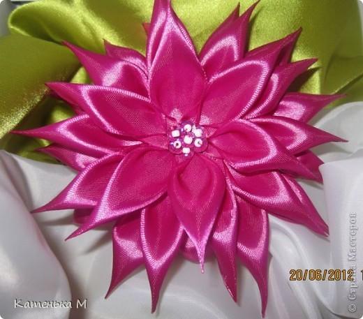 """Цветок """"Малиновый смузи"""" фото 2"""