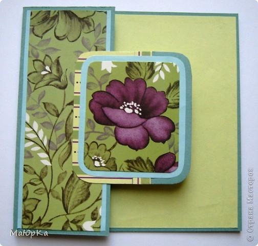 """Сегодня хочу показать Вам парочки открыток по одному скетчу. Наверное, их можно отнести к стилю """"просто и чисто"""", хотя не уверена. Основа-бумага для пастели + дизайнерская бумага. фото 7"""