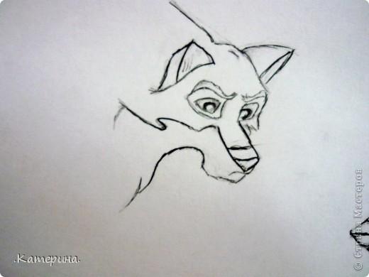 Сначала нарисовала карандашом, затем обвела гелевой ручкой. фото 3