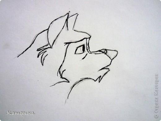 Сначала нарисовала карандашом, затем обвела гелевой ручкой. фото 2
