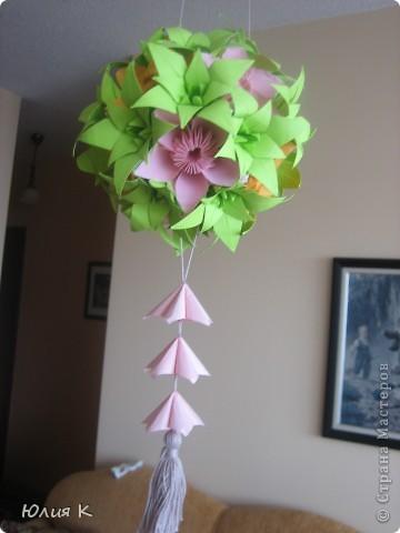 Кусудамка из цветов в подарок сестре мужа.  фото 3