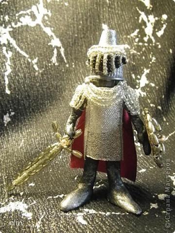 """Это Ланселот выполнен на конкурс """"Легенды о короле Артуре и рыцарях круглого стола"""" http://stranamasterov.ru/node/372481?c=favusers организованный Марией http://stranamasterov.ru/user/43271 фото 2"""