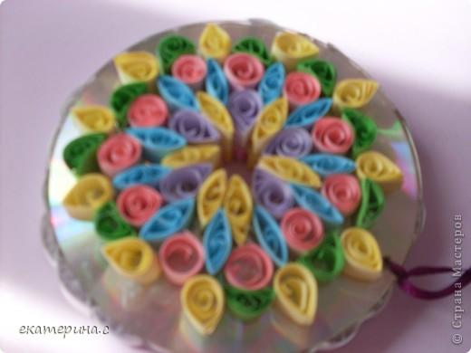 цветочки на диске фото 3