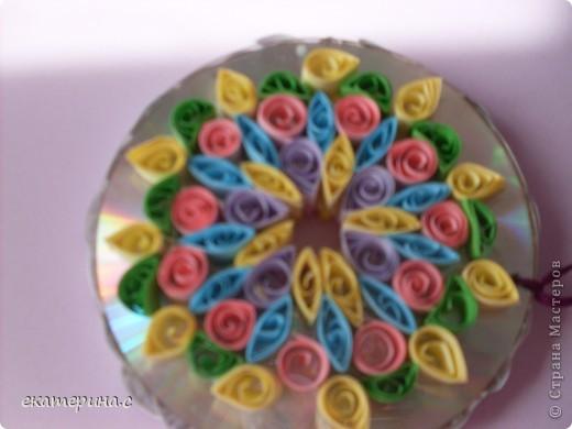 цветочки на диске фото 4