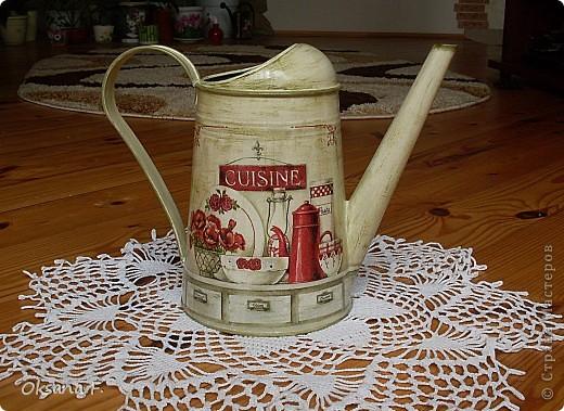 В комплект к чайному дому (ну, вы его помните)) мне заказали еще и леечку... фото 2