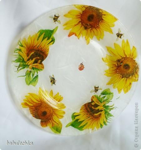 десертная тарелка,их четыре,все разные по  композиции фото 4